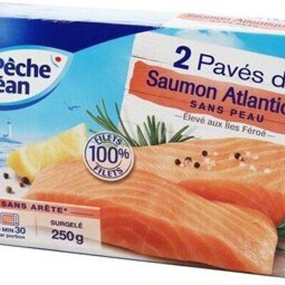 Paves de saumons x2 asc 250g surg (Pêche océan)