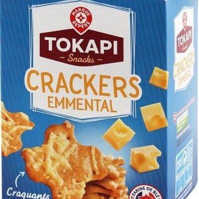 Crackers à l'emmental (Tokapi)