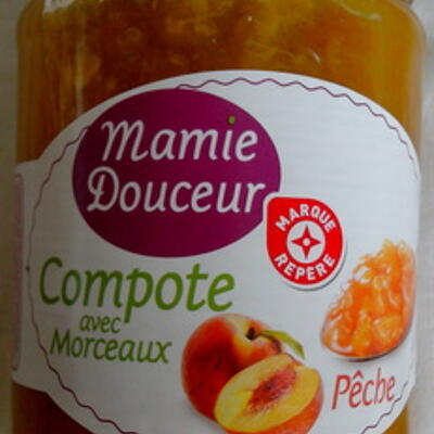 Compote pêches (Mamie douceur)
