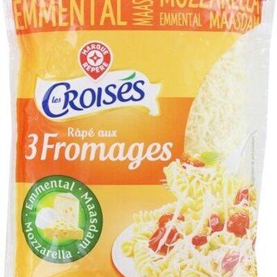 Rapé aux 3 fromages 27 % mat.gr. (Les croisés)
