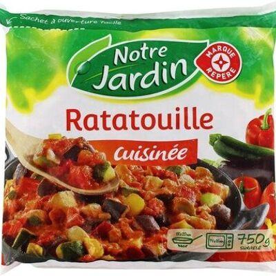Ratatouille cuisinée portion surgelée (Notre jardin)