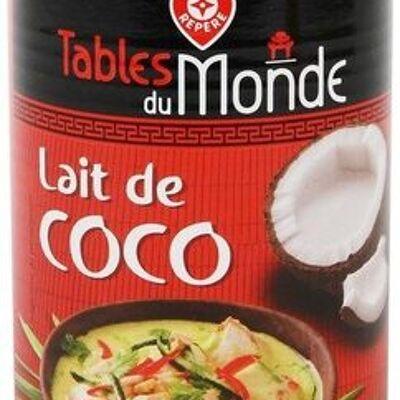 Lait de coco boite 1/2 (Tables du monde)