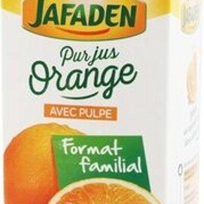 Pur jus d'orange de floride réfrigéré - brique (Jafaden)