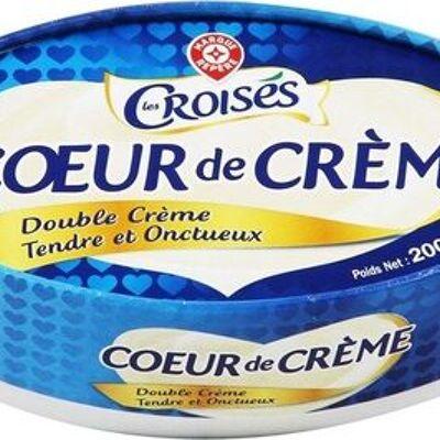 Coeur de crème 33% mat. gr. (Les croisés)