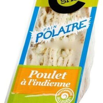 Sandwich polaire poulet à l'indienne (Côté snack)