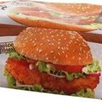 Pains complets pour hamburgers x 4 (Epi d'or)