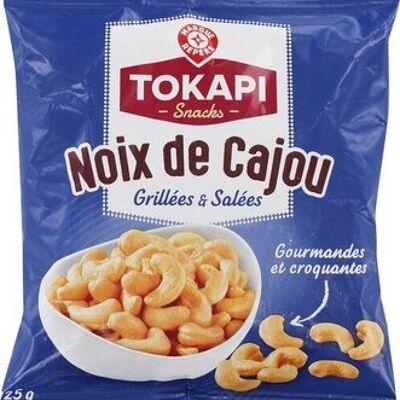 Noix de cajou grillées et salées (Tokapi)