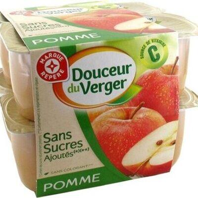 Purée de pommes sans sucres ajoutés (Douceur du verger)