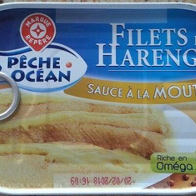 Filets de harengs - sauce à la moutarde (Pêche océan)