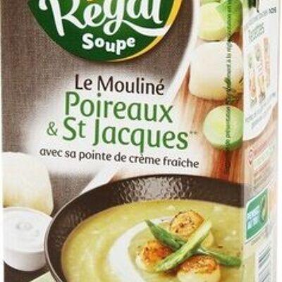 Velouté poireaux st jacques (Régal soupe)
