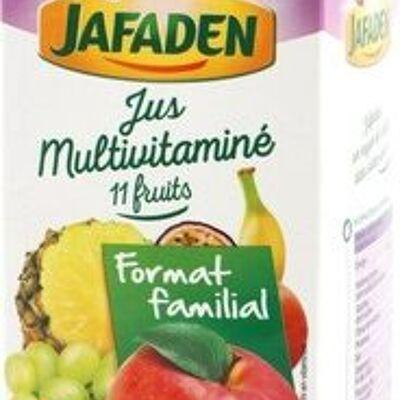 Jus multivitaminé 11 fruits (Jafaden)