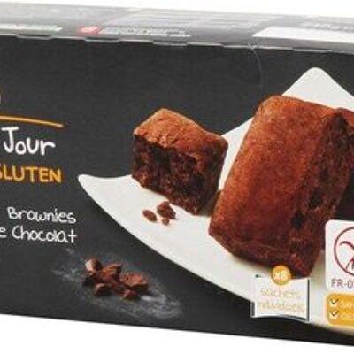 Mini brownie chocolat ss gluten x8 (Chaque jour sans gluten)