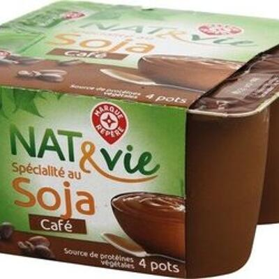 Spécialité au soja café (Nat & vie)