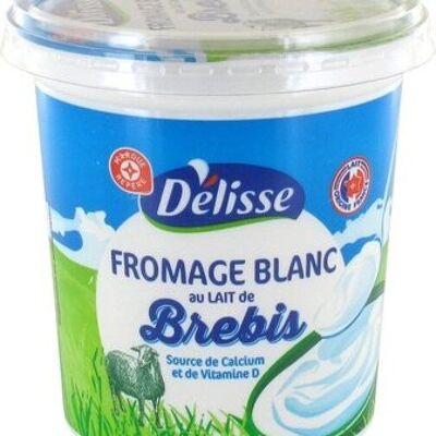 Fromage blanc au lait de brebis (Délisse)