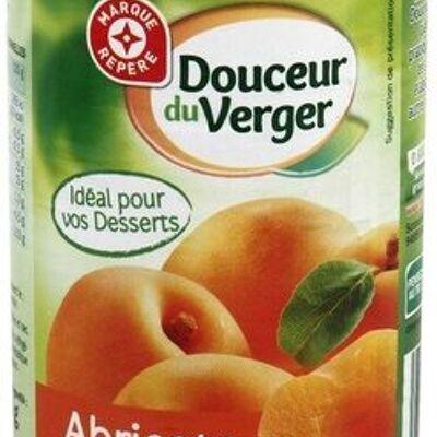 Abricots au sirop (Marque repère)