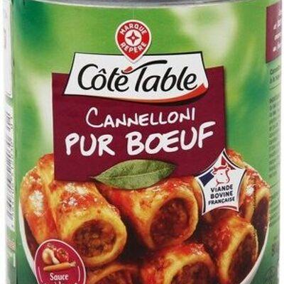 Cannelloni pur boeuf (Côté table)
