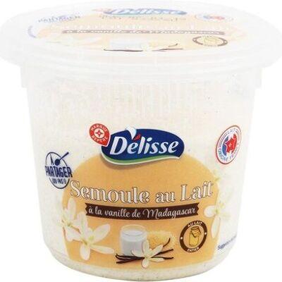 Semoule au lait à la vanille de madagascar (Délisse)