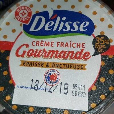 Crème fraîche gourmande (35 % mat. gr.) (Délisse)