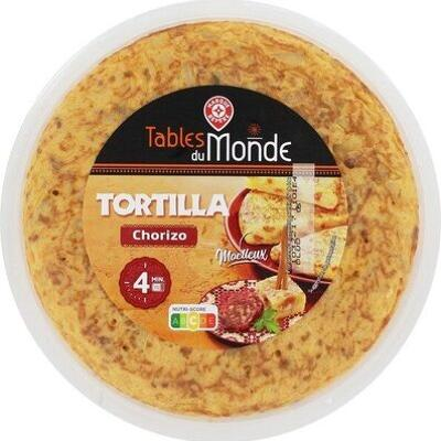 Tortillas chorizo (Tables du monde)