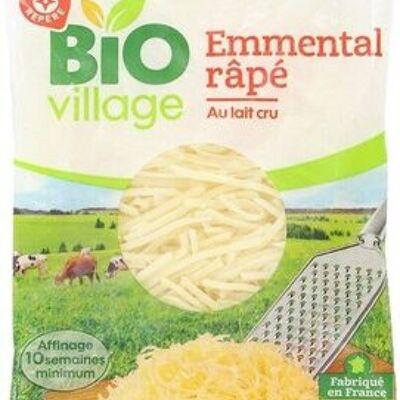 Emmental rapé bio 29% mat. gr. (Bio village)