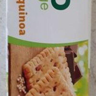 Biscuits pépites de chocolat quinoa (Bio village)