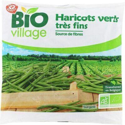 Haricots verts bio (Bio village)