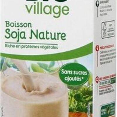 Boisson au soja nature bio (Bio village)