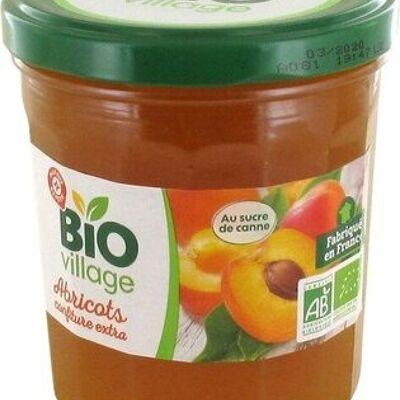 Confiture extra d'abricots bio (Bio village)