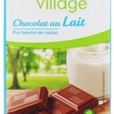 Chocolat au lait bio (Bio village)