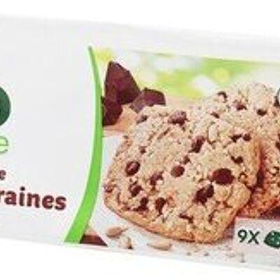 Biscuits pépites de chocolatet graines (Bio village)