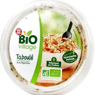 Taboulé aux légumes bio (Bio village)