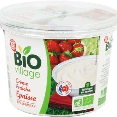 Crème fraîche épaisse bio 30 % mat. gr. (Bio village)