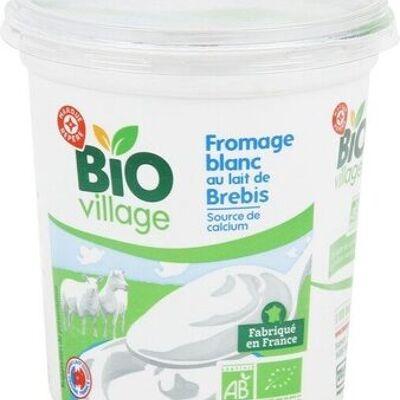 Fromage blanc au lait de brebis bio (Bio village)