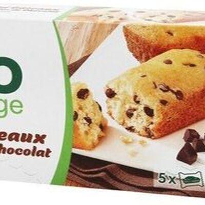 Mini gâteaux aux pépites de chocolat bio (Bio village)