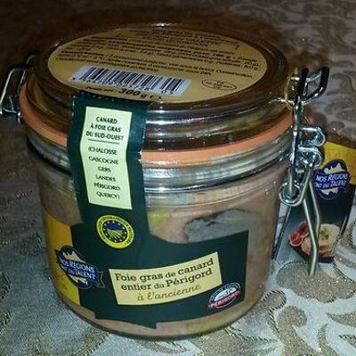 Foie gras de carnard entier du périgord à l'ancienne (Nos régions ont du talent)