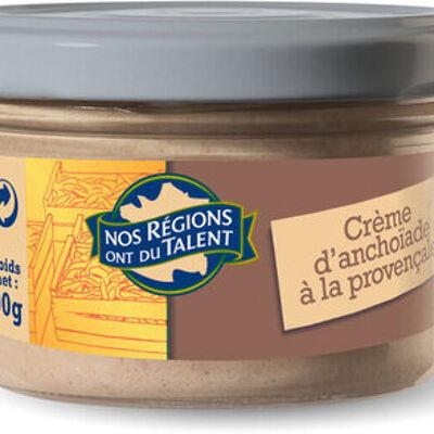 Crème d'anchoïade provençale (Nos régions ont du talent)