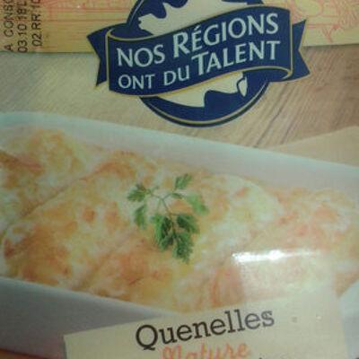 Quenelles nature, nos régions ont du talent (Nos régions ont du talent)
