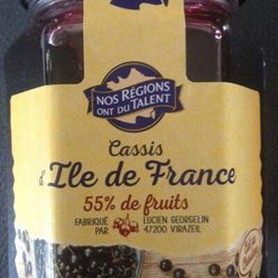 Cassis d'ile-de-france au sucre de canne (Nos régions ont du talent)
