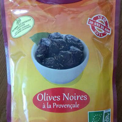 Olives noires à la provencale (Bellenature)