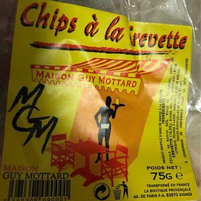 Chips a la crevette (Maison guy mottard)