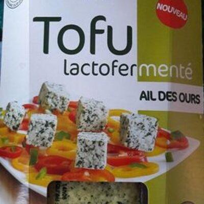 Tofu lactofermenté ail des ours (Sojami)