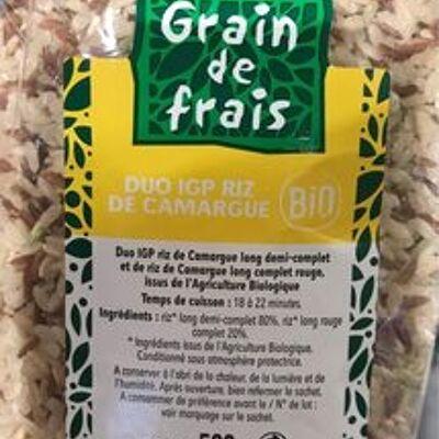 Duo igp riz de camargue (Grain de frais)