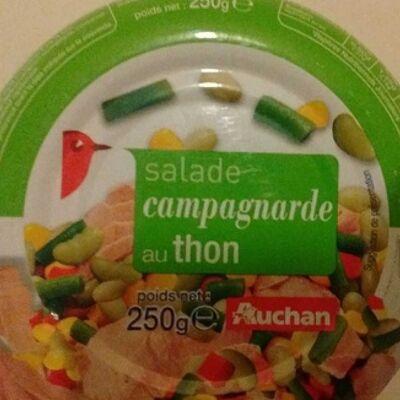 Salade campagnarde au thon (Auchan)