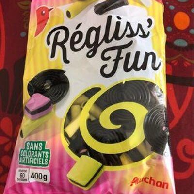 Réglisse mix (Auchan)