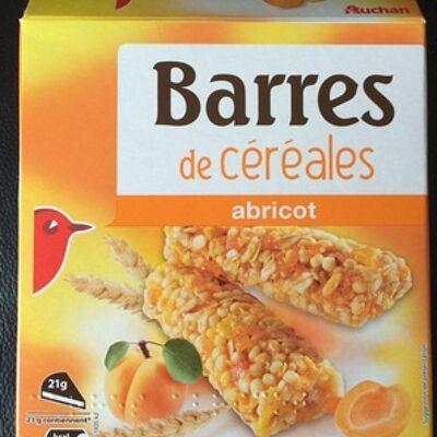 Crousty abricot (Auchan)