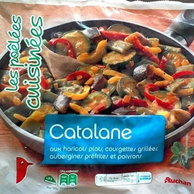 Les poêlées cuisinées - catalane (Auchan)