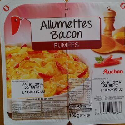 Allumettes bacon fumées (Auchan)