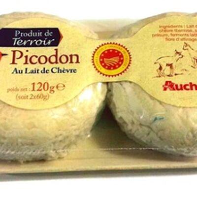 Picodon au lait de chèvre (Auchan)