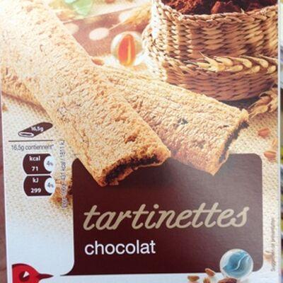 Tartinettes chocolat (Auchan)