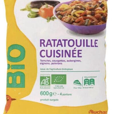 Ratatouille cuisinée surgelée (Auchan bio)